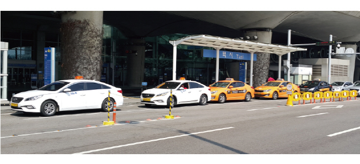 economic airport taxi in Korea