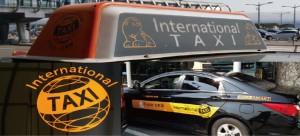 international taxi in Korea airport