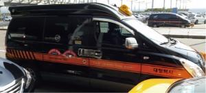 Japanese speaking driver van taxi