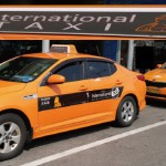 taxi for foreigners in Korea