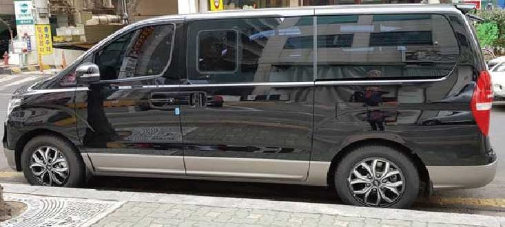 Incheon airport private van
